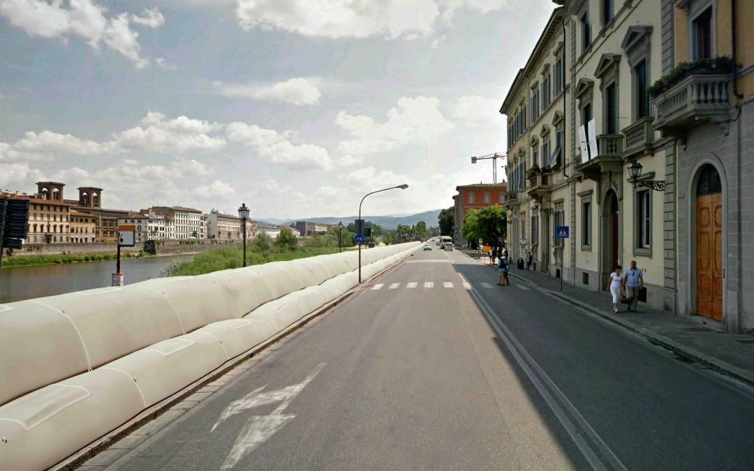 La Regione Toscana adotta il sistema ECOREEF per le esondazioni del fiume Arno